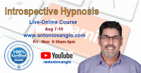 Four-Day  ONLINE Introspective Hypnosis Course AUG 2020